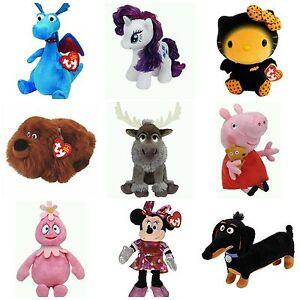 "Ty Beanie Babies 6"" Licensed Characters US Seller   eBay"