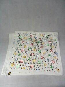 """3 blanc à motifs 100% Coton Bébé Serviettes 26.5"""" X 26.5""""-afficher le titre d`origine Ye3gs3ET-07202658-962617040"""