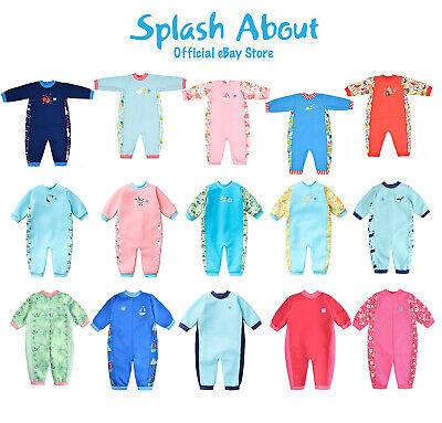 Beb/é Splash About Baby Wrap Wetsuit Traje De Neopreno Ni/ños