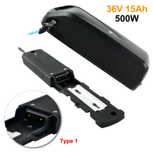 Charger Kit 36V 15Ah Lithium Electric Bike Battery Pack with USB Fr 500W Motor