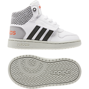 Details about Adidas Kids Shoes Fashion School Sports Sneakers HOOPS MID 2 Infants Boys EE8549