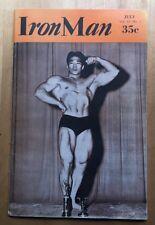 Body Building, Muscle Magazine, 1954, Tommy Kono