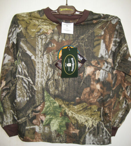 Childrens Realtree Camouflage à manches longues tee-shirt 128 cm environ 7//8 années-vente