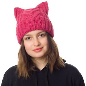 Pussycat hat- Cat ears hat-Pussy hat-Cat beanie hat-Pussyhat-Ears ... 64593ddc20ad
