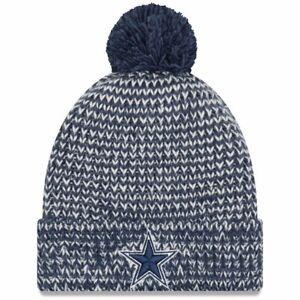 b24286c4aa9 Dallas Cowboys New Era Women s Frosty Cuffed Pom Knit Hat Cap ...