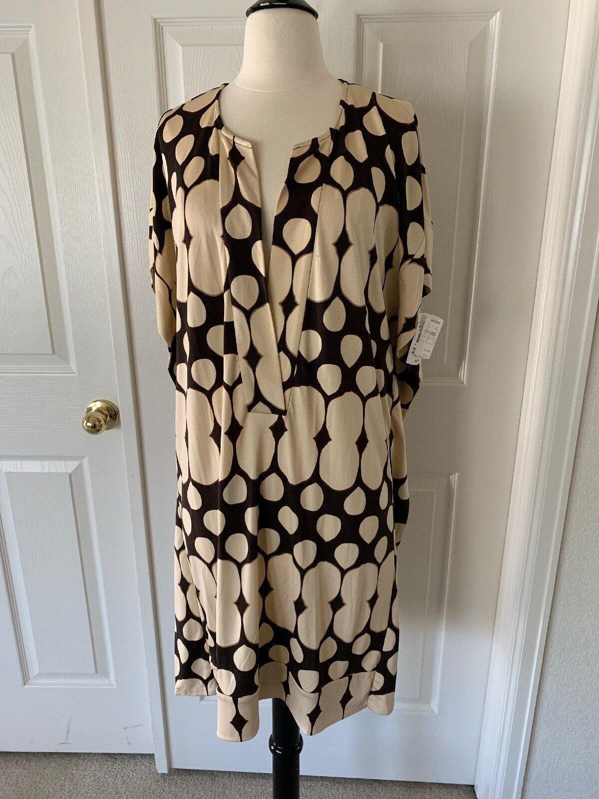 Diane  Von Furstenberg tuvallu Kimono vestido nuevo con etiquetas talla 8  tiendas minoristas