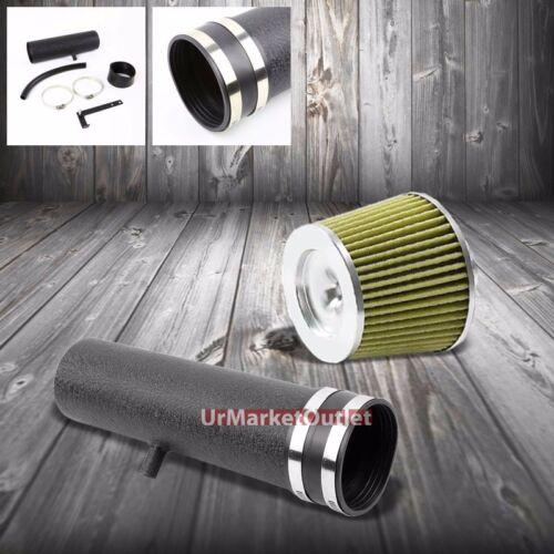 Shortram Air Intake Black Pipe+Yellow Filter For Chevy 94-97 Camaro Z28 LT1 V8