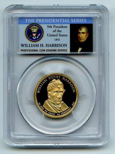 2009 S $1 William Henry Harrison Dollar PCGS PR69DCAM