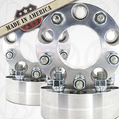 "Spacers 1/"" 1//2/""x20 Studs USA MADE5 Lug 4.75/"" To 5 x 4.5/"" Wheel Adapters"