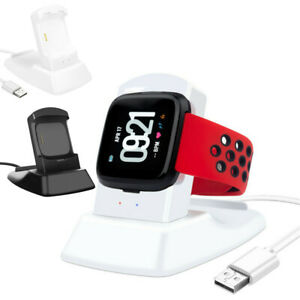 USB-Charger-Charging-Stand-Station-Dock-Holder-For-Fitbit-Versa-Lite-Smart-Watch
