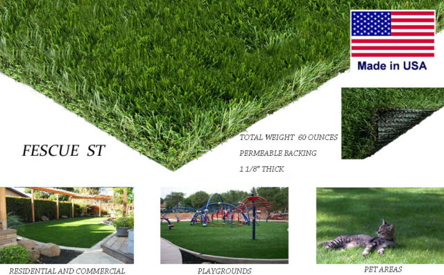 8 X12 Premium Synthetic Turf Artificial Grass Fake Lawn For Indoor Outdoor Pet For Sale Online Ebay