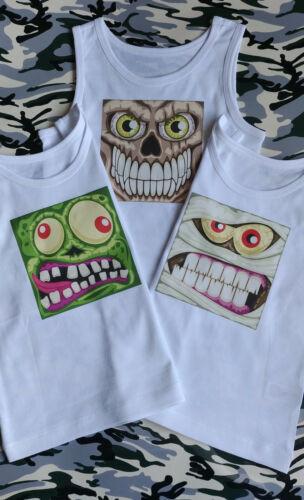 3 Pack Vests Sirt T-shirt Boys Kids