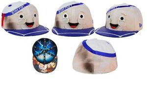 100b247ab55 Image is loading New-Era-Ghostbusters-Marshmallow-Man-character-face-59fifty -