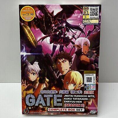 Gate Jieitai Kanochi Nite Kaku Tatakaeri Season 2 Complete Box Set 9555329249209 Ebay