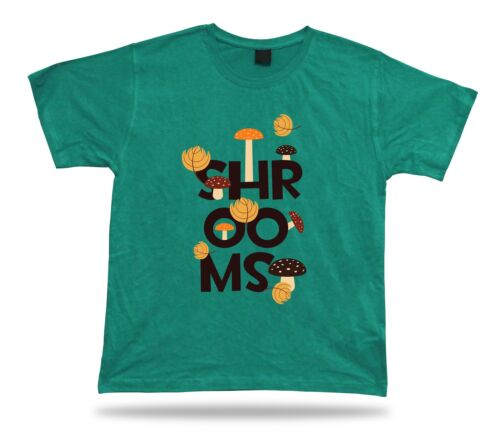 Shrooms Colorful Mushrooms awesome unique unisex cool tshirt tee design apparel