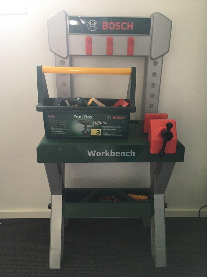 Værktøj, Værktøjsbænk, Bosch