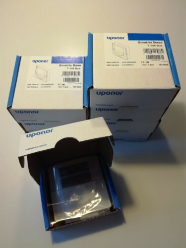 3x Raumfühler Uponor Smatrix Base T-146 Bus 1071664 Fussbodenheizung Thermostat
