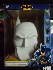 DC Comics Color Your Own Batman Cowl w/ Markers 10 x 8 Sculpture