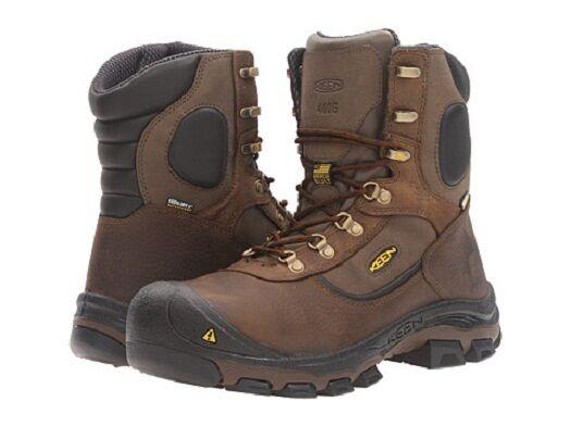 New in box KEEN Utility Men's Leavenworth 400G Waterproof Work Boot Size 7 M