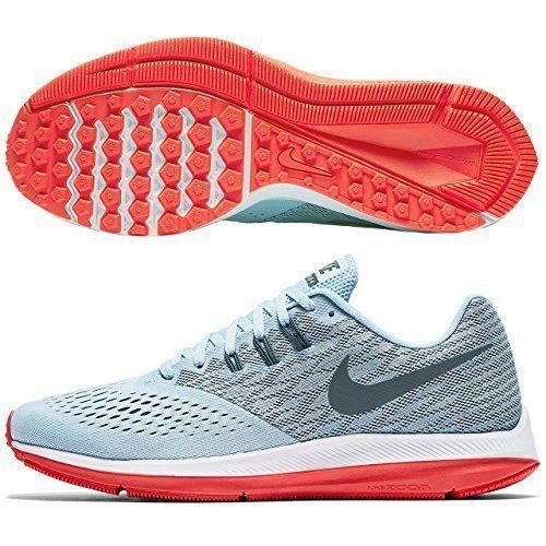 Nike zoom winflo 4 donne blu ghiaccio / raggiante blue fox / raggiante / / bianco 98485440 sz 6,5 dfc73d