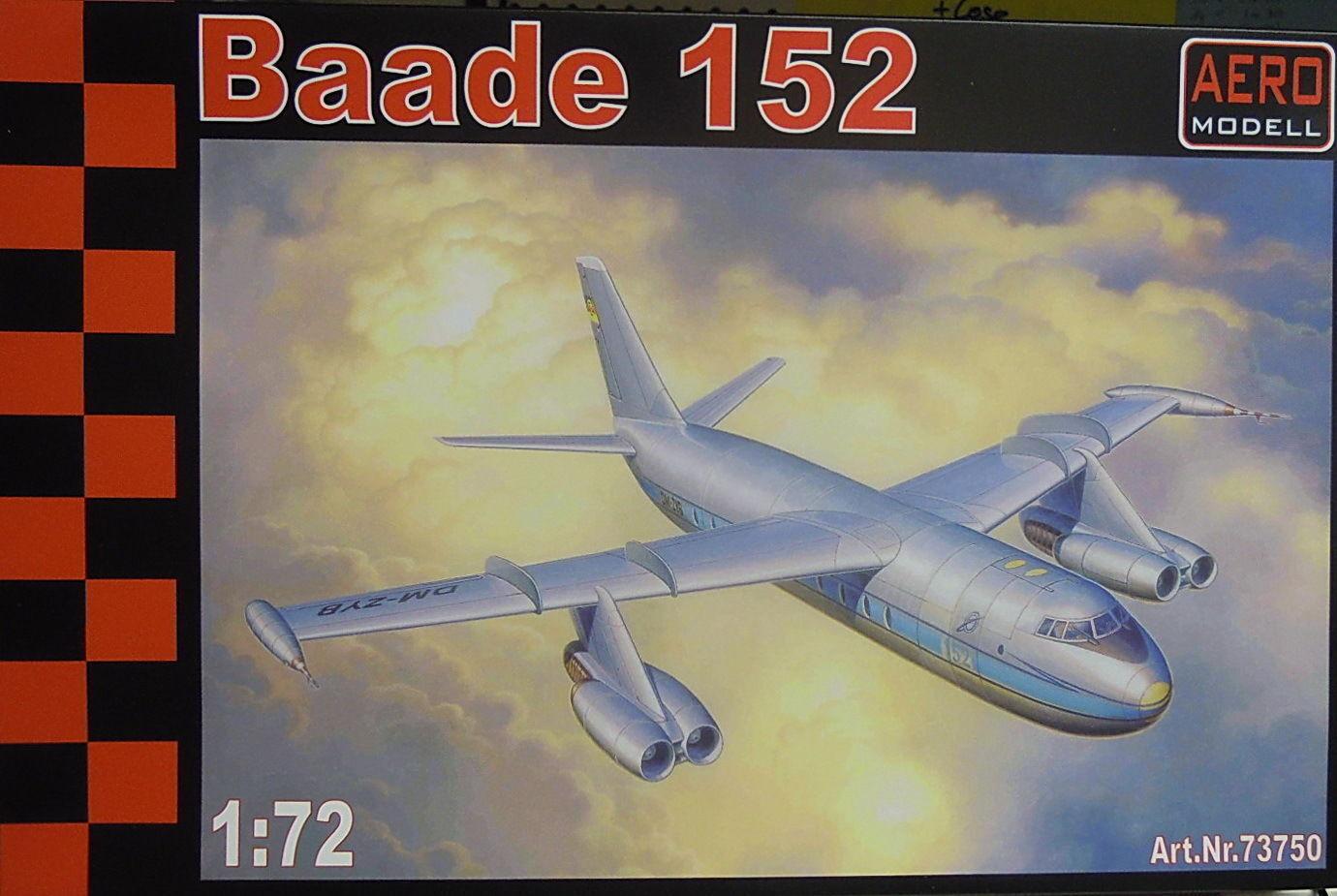 bienvenido a elegir Avión de Pasajeros Baade 152 152 152 V4, Aeromodell, 1 72 , Avión de Pasajeros, Rareza  Venta en línea de descuento de fábrica