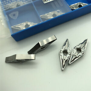 10pcs Korloy VNMG160408-HA H01 VNMG332-HA H01 For Processing Aluminum Alloy