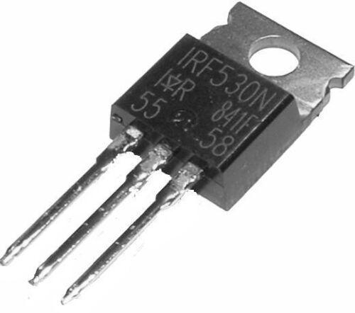 3 x IRF530N N-Kanal TO-220 Power Transistor 0,11Ω