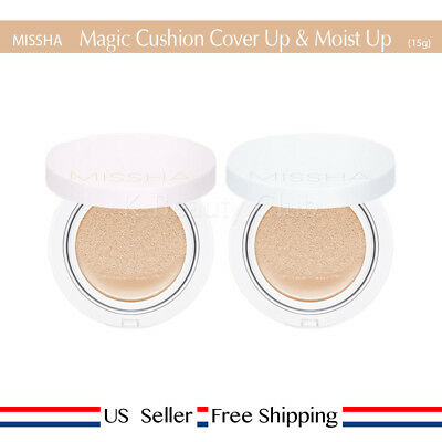 Missha Magic Cushion Cover Lasting Moist Up Spf50 Pa 21 23 Freesample Us Ebay