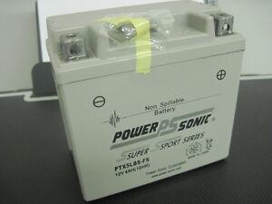 BATTERY-HONDA-150CC-CRF150-2006-2007-POWER-SONIC-PTX5LBS-FS-SUPER-SPORT-SERIES