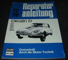 Reparaturanleitung Citroen D ID 20 ID 21 DS 20 DS 21 DS 23 Super Spezial NEU!