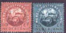 Nederland 542-543  75jaar wereledpostvereniging   1949 luxe gestempeld/USED