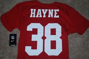 timeless design 8b599 0de1f Details about NEW Nike #38 Jarryd Hayne San Francisco 49ers NFL Rugby  Jersey Shirt (M, L)