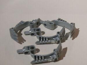 Zabawki konstrukcyjne LEGO Zabawki Lego 4 armes gris perle 4 pearl light gray bionicle weapon 8918 8920 8917 8921