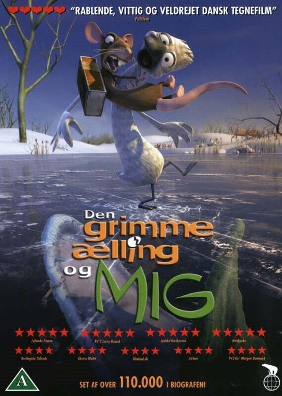 Den grimme ælling og Mig (Filmen), DVD, familiefilm