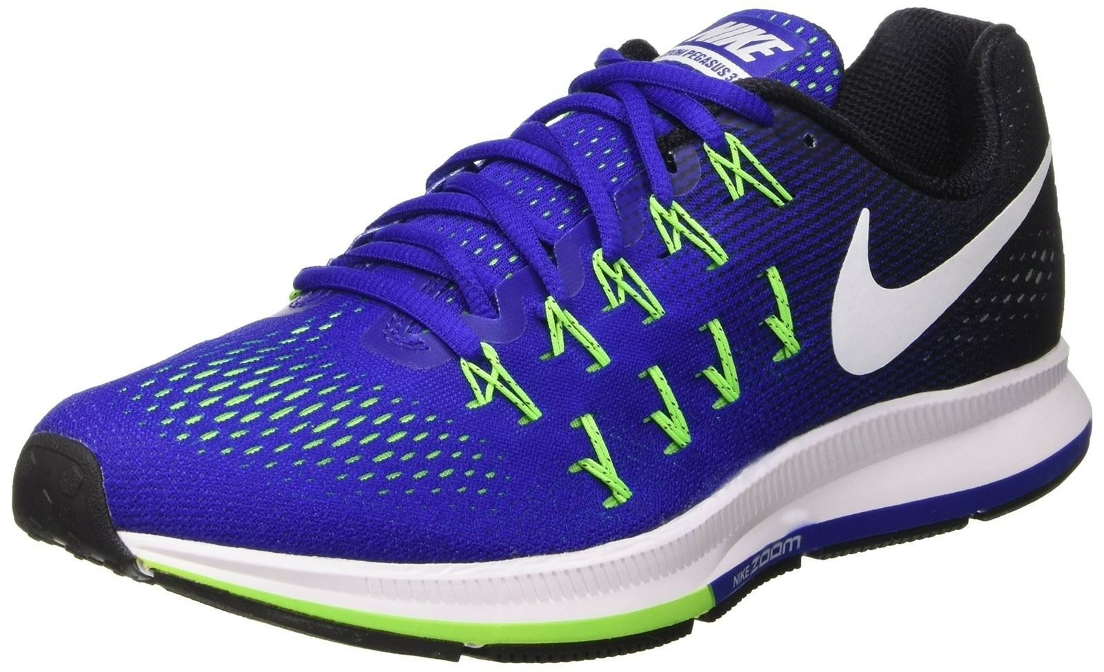 Nike Air Zoom Pegasus 33 Mens Running Trainers 831352 Sneakers Shoes (US 8, c...