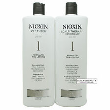 Nioxin System 1 Liter Duo Cleanser & Scalp Therapy 1 L / 33.8  FL. Oz.