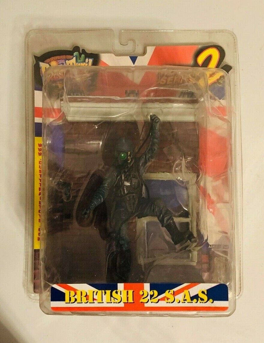 DUSTY TRAIL Series 2 BRITISH 22 S.A.S  6 6 6  Action FIGURE MILITARY SAS BOX DAMAGED f67d34