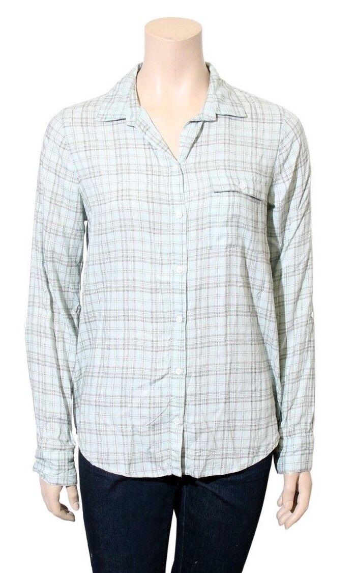 JOIE Plaid Shirt (Größe S)