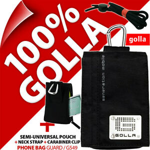 New-Golla-Black-Phone-Case-Pouch-Bag-for-iPhone-3GS-4-4S-5-5S-Samsung-Galaxy-S2