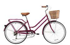 """REID LADIES VINTAGE PETITE 7SPD CHERRY 24"""" BEACH CRUISER CITY BIKE URBAN BICYCLE"""
