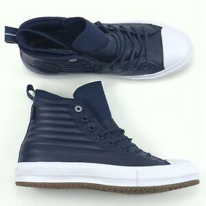 29b3e7b36fd7  120 Converse Chuck Taylor All Star Waterproof Leather Boot Hi Blue ...