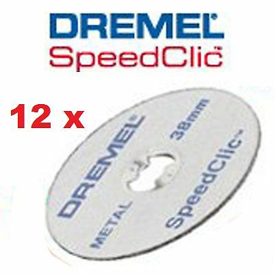 DREMEL SC456B 12x SpeedClic Metal Cutting Wheels - discos corte metal 2615S456JD