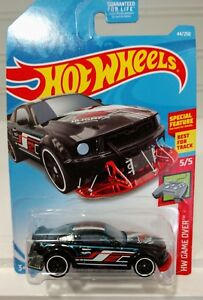 2005 Ford Mustang HW Game Over Hot Wheels