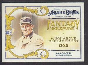 Topps-Allen-amp-Ginter-2018-Fantasy-Goldmine-FG-12-H-Wagner-Pittsburgh-Pirates