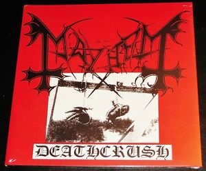Mayhem-Deathcrush-Limited-Edition-LP-180G-Black-Vinyl-Record-2009-BOB-UK-NEW