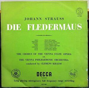 Image is loading CLEMENS-KRAUSS-strauss-die-fledermaus-2-LP-VG-