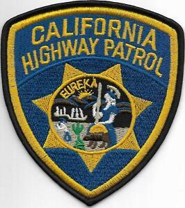 CALIFORNIA  HIGHWAY PATROL Polizei Abzeichen STATE Police Patch USA CHiPs 11,2cm