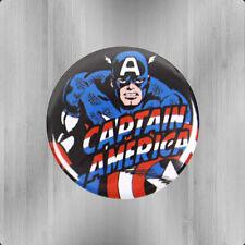 Logoshirt Comic Marvel Captain America Button Anstecker Anstecknadel Pin