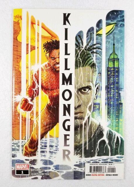 Marvel Comics Killmonger 1 - Bryan Hill Ferreyra Sabino - Free Shipping