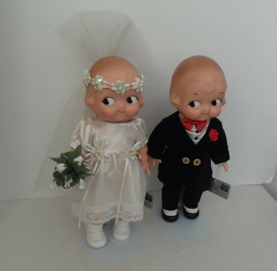 Campbell Soup bride and groom collectibles